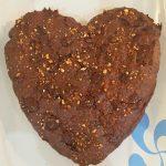 brownie choco-noisette et caramel